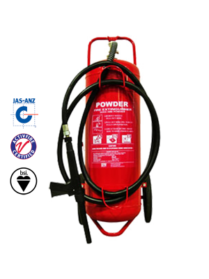 50KG DCP MOBILE EXTINGUISHER