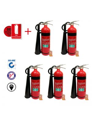 3.5kg CO2 fire extinguisher