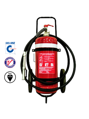 25KG DCP MOBILE EXTINGUISHER