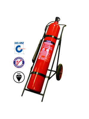 45KG CO2 MOBILE EXTINGUISHER