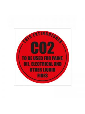 ID SIGN CO2 (DISK)-  190MM X 190MM