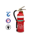 2.0KG DCP FIRE EXTINGUISHER C/W HOSE & VEHICLE BRACKET