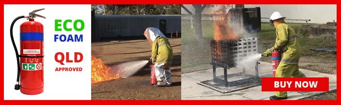 Foam Fire Extinguisher QLD requirement - PFAS firefighting foam ban
